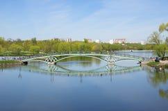 Parque de Tsaritsyno, Moscou, Rússia fotos de stock
