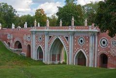 Parque de Tsaritsyno, Moscovo Foto de Stock