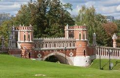 Parque de Tsaritsyno, Moscovo Fotos de Stock