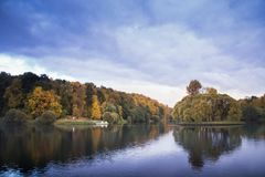 Parque de Tsarytsino, Moscou imagem de stock royalty free