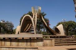 Parque de Uhuru em um Nairobi imagens de stock
