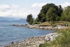 Parque de Vancôver Stanley imagem de stock royalty free