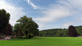 Parque de Vaux de Cernay Foto de archivo