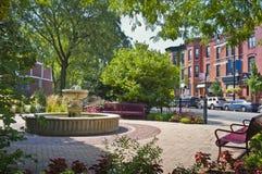 Parque de vecindad de Chicago, Illinois Imagen de archivo