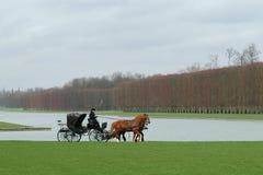 Parque de Versalhes fotografia de stock