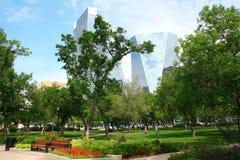 Parque de Victoria en Regina céntrica Imagen de archivo libre de regalías