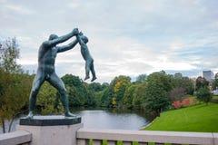 Parque de Vigeland Imagen de archivo