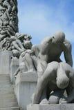 Parque de Vigeland en Oslo Fotos de archivo