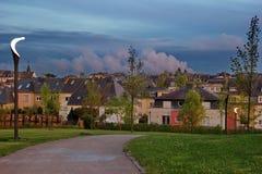 Parque de vizinhança pequeno Imagem de Stock Royalty Free