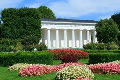 Parque de Volksgarten en Viena Fotografía de archivo libre de regalías
