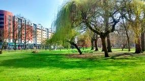 Parque de Whitworth en Manchester Imagenes de archivo