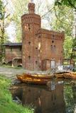 Parque de Wilanow. Torre del ladrillo. Varsovia. Polonia. Imágenes de archivo libres de regalías