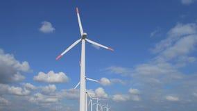 Parque de Windgenerator vídeos de arquivo
