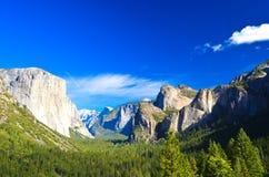 Parque de Yosemite, California, los E.E.U.U. Foto de archivo