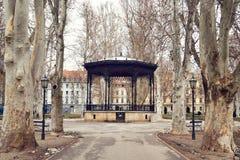 Parque de Zrinjevac, Zagreb, Croácia fotos de stock royalty free