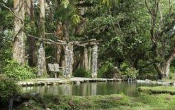Parque del abandono Imagen de archivo libre de regalías