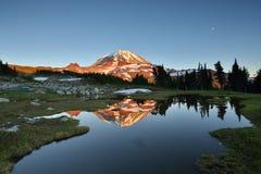 Parque del aerosol, un parque nacional más lluvioso del Mt. Fotos de archivo libres de regalías