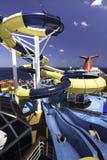 Parque del agua del barco de cruceros Fotografía de archivo