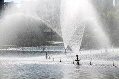 Parque del agua del espray Fotografía de archivo