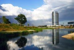 Parque del Agua, Zaragoza Immagine Stock Libera da Diritti