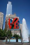 Parque del amor Fotos de archivo