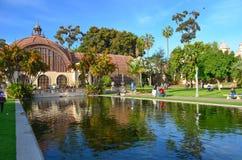 Parque del balboa, San Diego, California Imagen de archivo libre de regalías