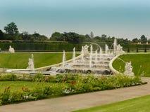 Parque del belvedere en Viena Fotografía de archivo