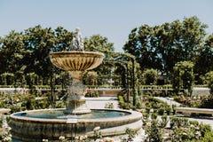 Parque del Buen Retiro en Madrid, España foto de archivo