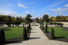 Parque del Buen Retiro. Madrid Stock Photo