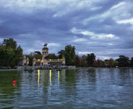 Parque del Buen Retiro Royalty Free Stock Photo