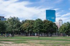 Parque del campo común de Boston fotos de archivo libres de regalías
