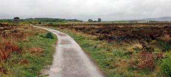 Parque del campo de batalla de Culloden foto de archivo