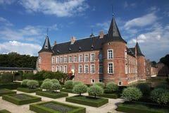 Parque del castillo Imagen de archivo libre de regalías