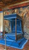 Parque del castillo de Chenonceau imagen de archivo