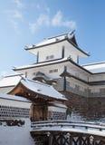 Parque del castillo de Kanazawa imagenes de archivo