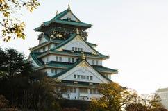 Parque del castillo de Osaka Fotografía de archivo libre de regalías