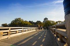 Parque del castillo de Osaka en Kyoto, Japón Imágenes de archivo libres de regalías