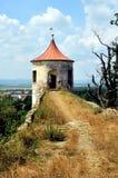Parque del castillo en Horsovsky Tyn, República Checa foto de archivo