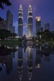 Parque del centro de ciudad del kilolitro Imagenes de archivo
