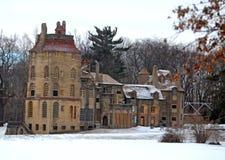 Parque del condado de Bucks en invierno Imagenes de archivo