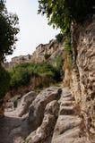 Parque del desde del vista de Bocairent imágenes de archivo libres de regalías