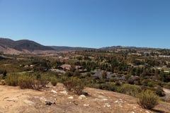 Parque del desierto de Aliso Viejo Fotografía de archivo