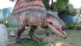 Parque del dinosaurio de Dubai metrajes