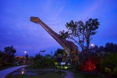 Parque del dinosaurio en Tailandia Fotografía de archivo