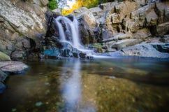 Parque del distrito de Dranesville, Little Falls Fotos de archivo libres de regalías