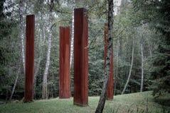 Parque del Europa, el lugar, Lituania foto de archivo libre de regalías