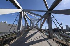 Parque Del forum, puente stockfotos