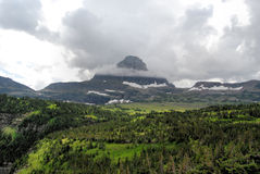 Parque del glaciar de Montana Fotografía de archivo