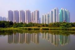 Parque del humedal de Hong Kong Imagenes de archivo