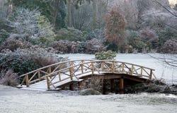 Parque del invierno Imagenes de archivo